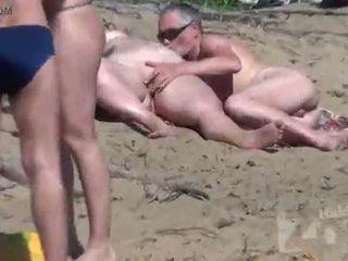 saugen, voyeur, strand