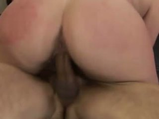 Milf cutie sits her hairy beaver on a hard penis