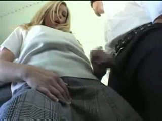 chica, uniforme, xvideos