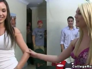 College party turns into a dorm house orgy