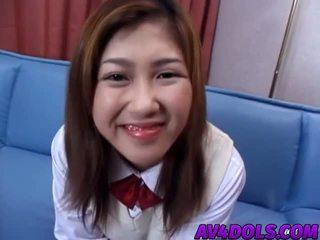 Asyano tinedyer shows puwit at swallows mahirap titi sa Mainit pagsubo ng titi