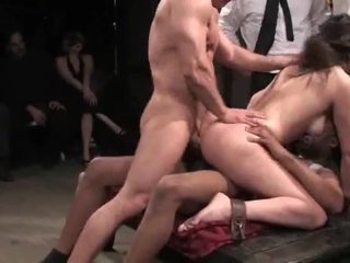 Beauty Gets All Her Holes Screwed Very Hard