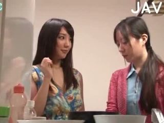 brünett, jaapani, blowjob