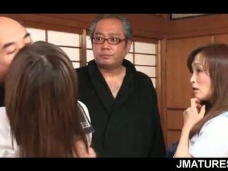 japānas, grupu sekss, vecenīte