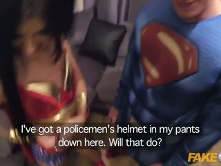 Fake Cop Batcop v Supercock Parody