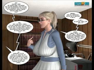 dessins animés, 3d comics