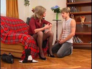 러시아의 엄마는 내가 엿 싶습니다 dominates 젊은 guy
