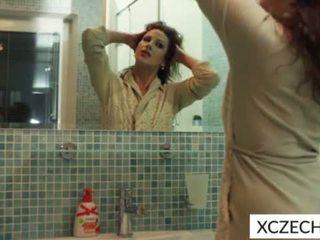 Nešvarus milf į the dušas