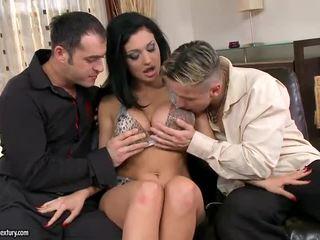 hardcore sex, labiausiai dvigubai skverbtis, žiūrėti grupinis seksas geriausias