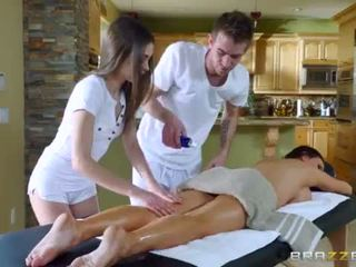 Brazzers - Sexy threesome massage <span class=duration>- 7 min</span>