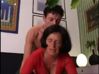 Giving Granny A Good Hard Dicking !
