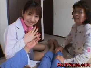 Ann Nanba Asian Nurse Shows Off Her Cute Body