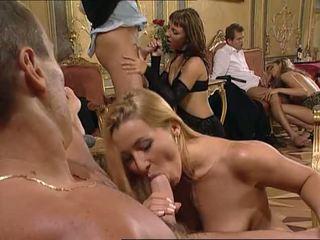 pijpen, blondjes, dubbele penetratie