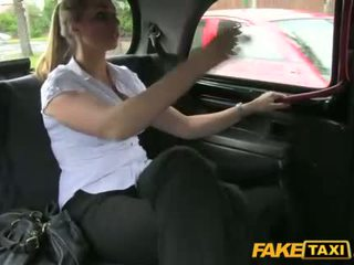 Police woman gets fucked by a cab driver