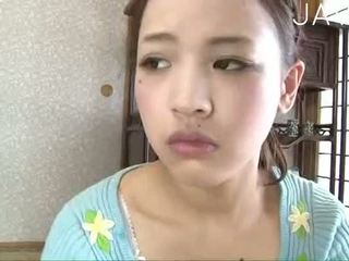 brunette, japanese, babe