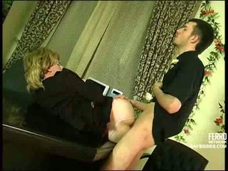 The boss wants to get fucked