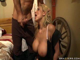 Alanah rae appreciates die cowgirl auf die rod