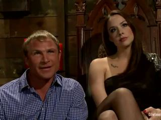 Male has moth sitting at python umupo onto plus pegging by chanel preston