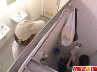 一 驚 doggy 風格 廁所 他媽的 為 miku hasegawa