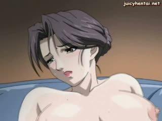 Horny Anime Milf Takes Teen Cock