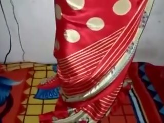 satin, silk, saree