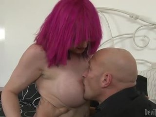 Busty TS prostitute Kitty K hard anals...