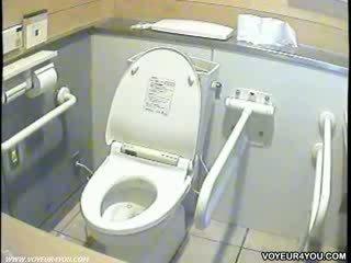Ladies toilet in a race circuit