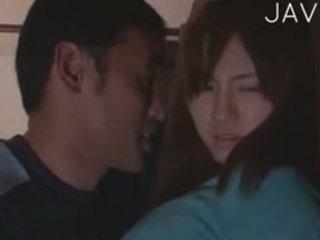 japonais, gros seins, mamelons