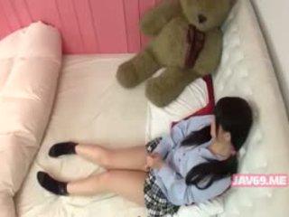 Roztomilý nadržený korejština dívka having pohlaví