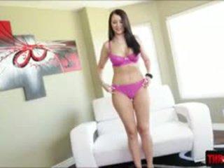 ideálny bruneta veľký, veľké prsia, vy výstrek väčšina