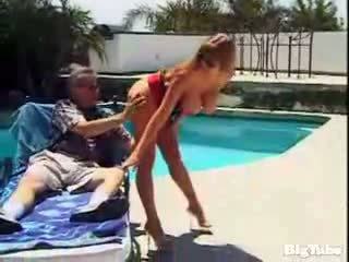 Darla crane titty fucks و sucks كوك outdoors