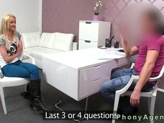 Small Tits Blonde Anal Gangbanged On Casting