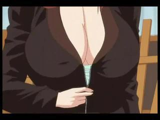 Painter fucks his big tits model