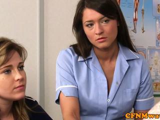 Cfnm perawat nadia elainas patient cums