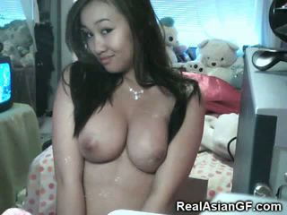 Asian Teen GFs Love to Suck!