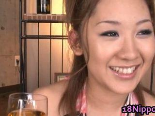 Asiatisk tenåring jenter få knullet gratis