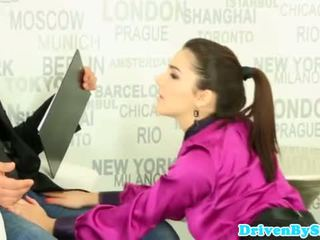 Deepthroating valentina nappi facialized