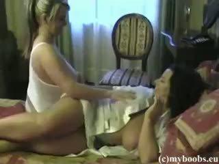 big boobs, lesbiana, amateur