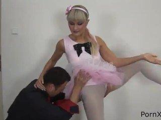 Freaky ballet dancer anita has veikts mīlestība wazoo laikā the rehearsal
