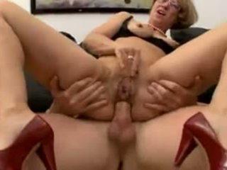 मुखमैथुन, डबल प्रवेश, grannies