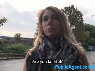 Publicagent ani gets fucked outdoors and in the mobil