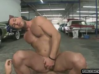 muscle, blowjob, anal