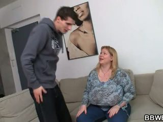 BBW Bet: Cute bbw hotty gives pleasure to hunk cock