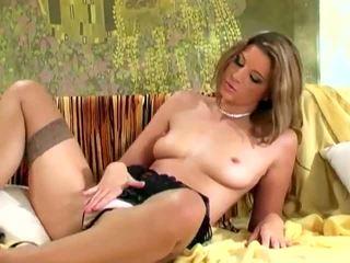brunete, orgasmu, solo