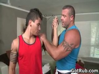 Worthwhile lad receives superb homo wrijven