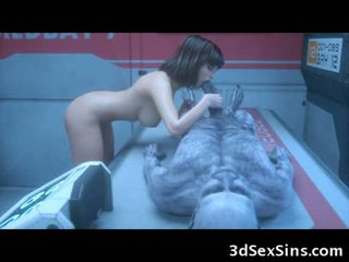 The 3d zombi sexperiment!