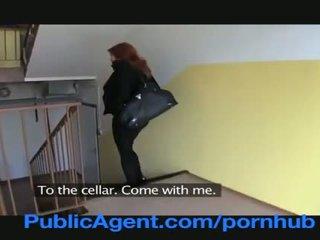 Publicagent kết hôn tóc đỏ does hậu môn trong các cellar