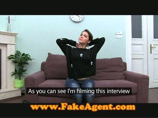 Heet europees babe pounded hard bij een casting
