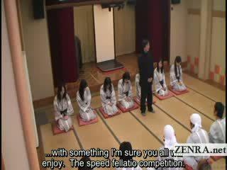 Subtitled ใหญ่ คนโง่ indebted ประเทศญี่ปุ่น milfs bathhouse เพศ เกมส์