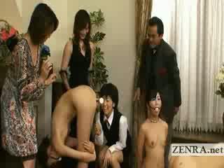 Bizarre weird bondage anal butt plug Japan furniture